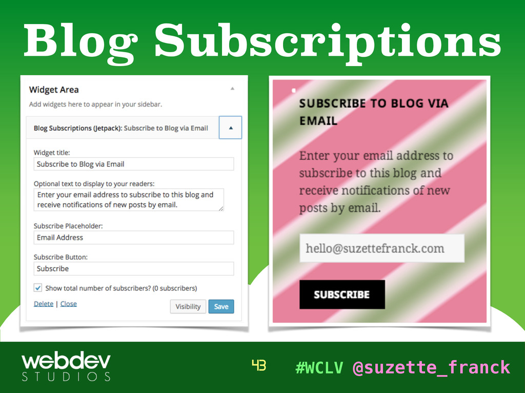 #WCLV @suzette_franck Blog Subscriptions 43