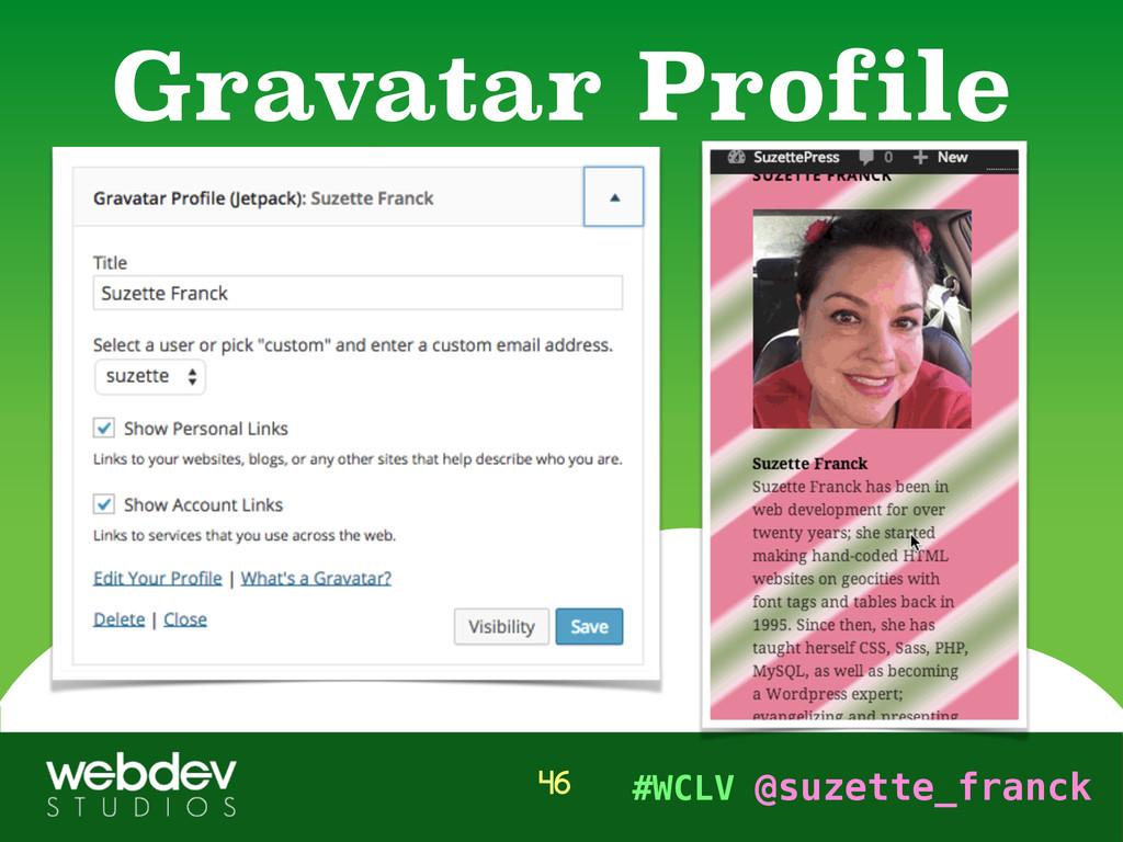 #WCLV @suzette_franck Gravatar Profile 46
