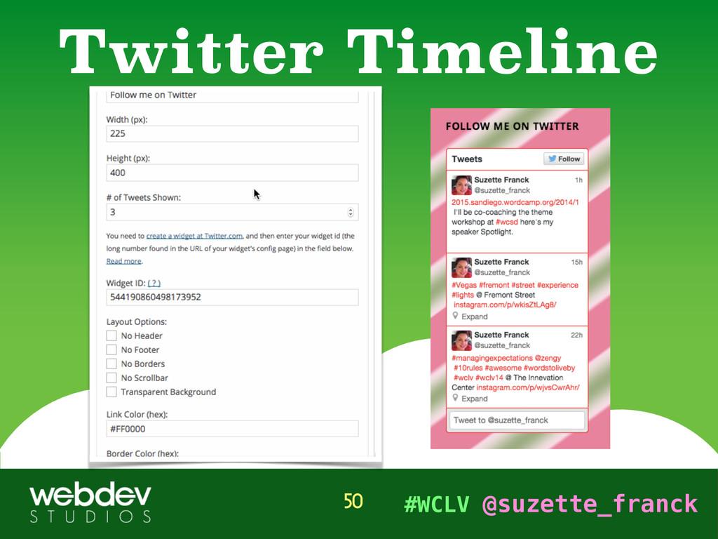 #WCLV @suzette_franck Twitter Timeline 50