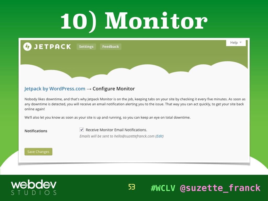 #WCLV @suzette_franck 10) Monitor 53