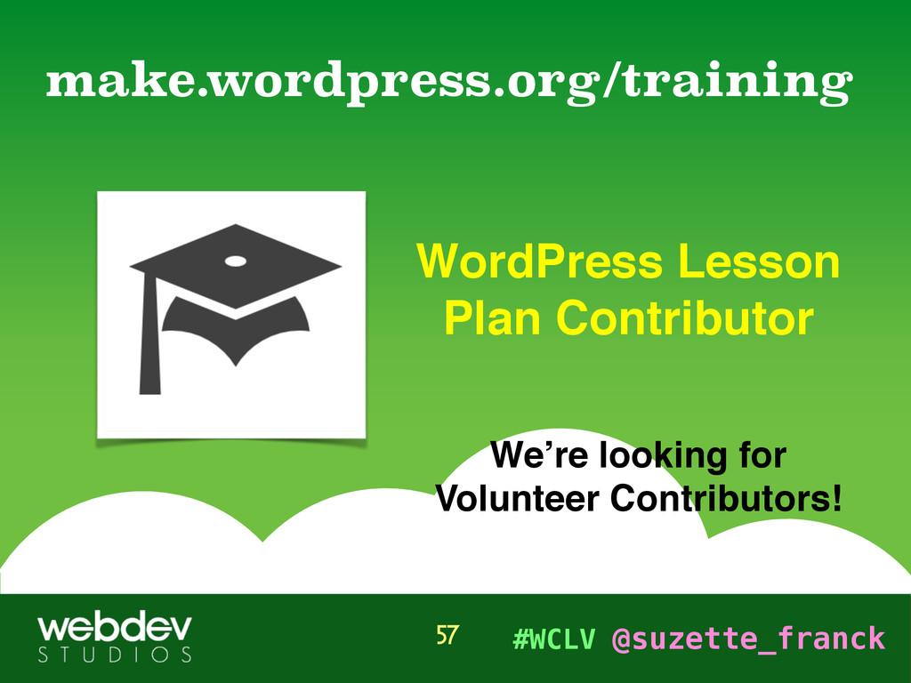 #WCLV @suzette_franck WordPress Lesson Plan Con...