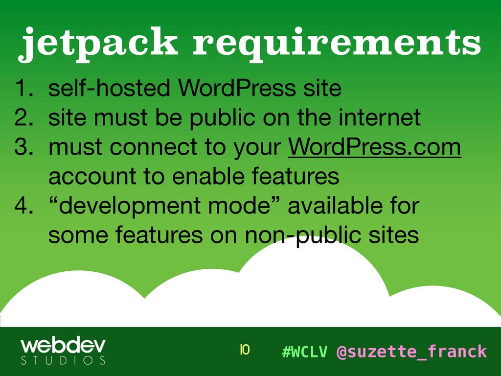 #WCLV @suzette_franck 1. self-hosted WordPress ...