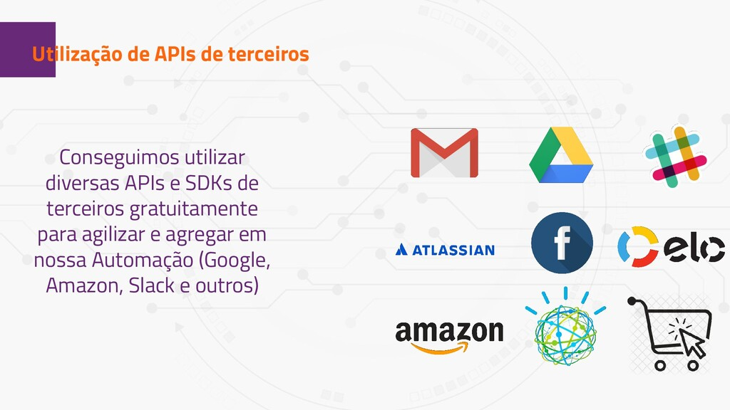 1 Utilização de APIs de terceiros Conseguimos u...
