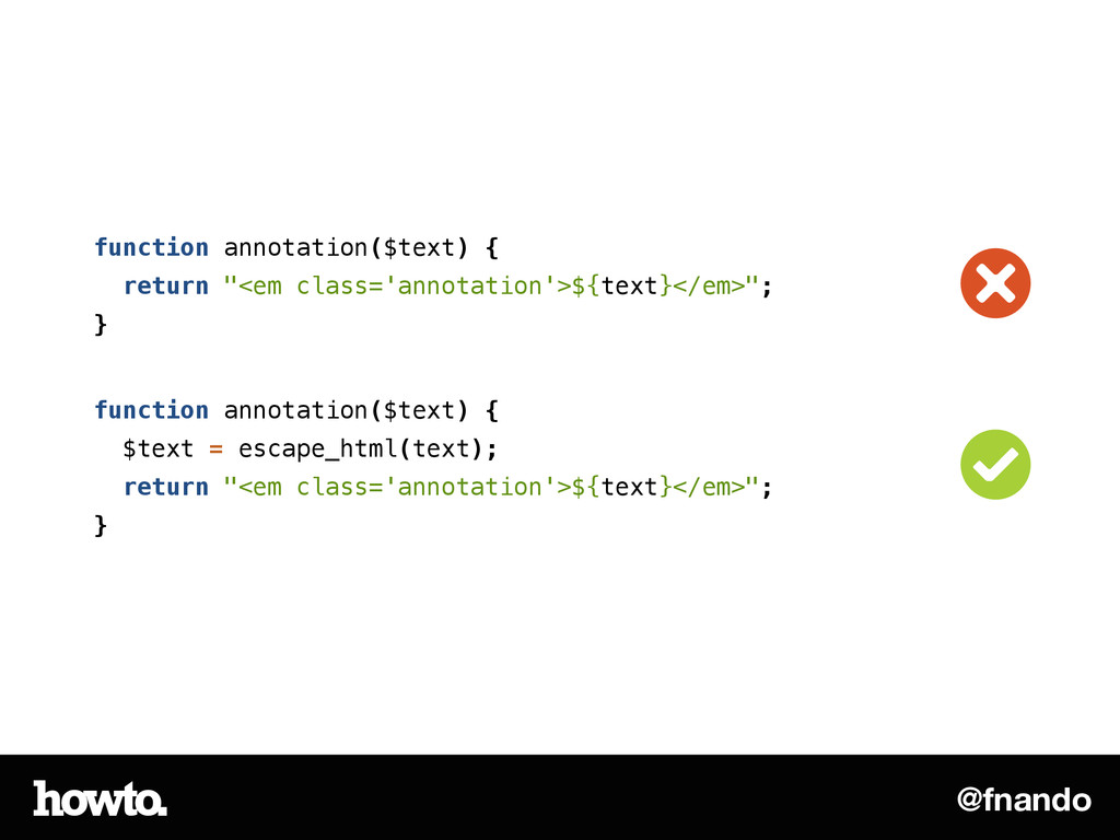 "@fnando function annotation($text) { return ""<e..."