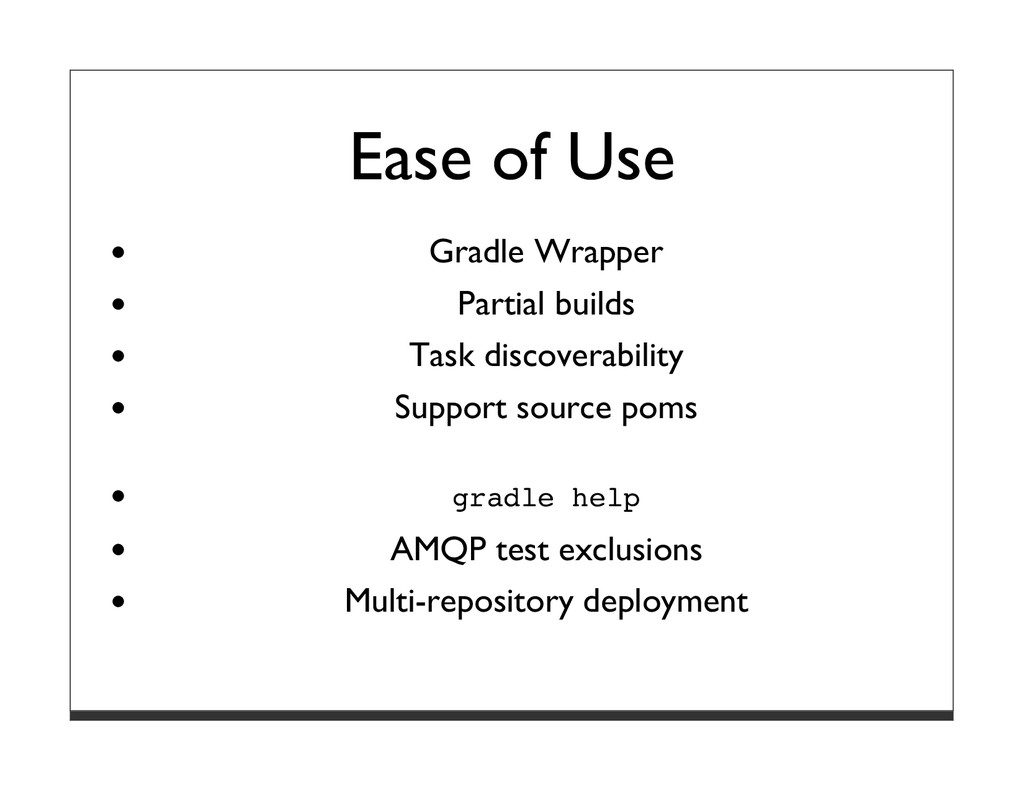 Ease of Use Gradle Wrapper Partial builds Task ...