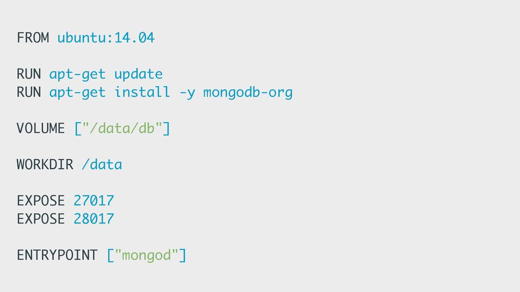 FROM ubuntu:14.04 RUN apt-get update RUN apt-ge...