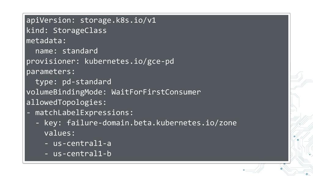 apiVersion: storage.k8s.io/v1 kind: StorageClas...
