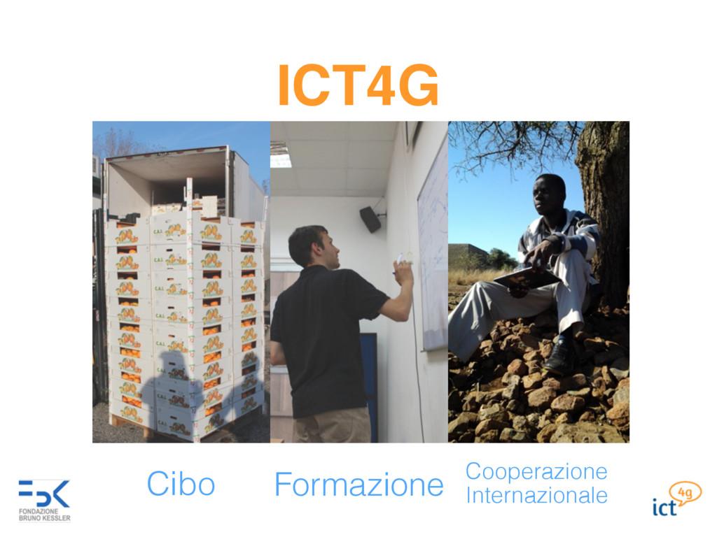 ICT4G Cibo Cooperazione Internazionale Formazio...