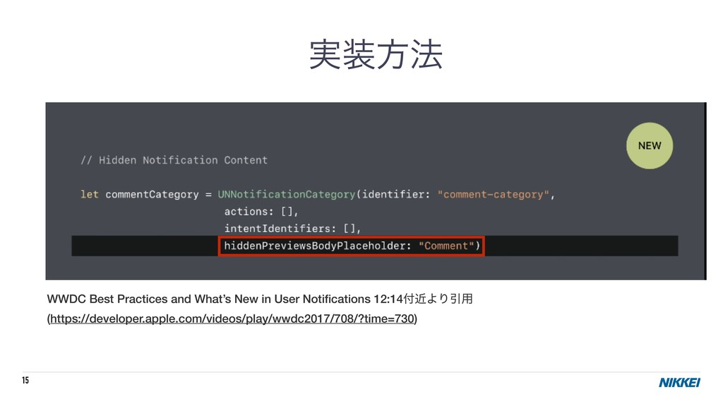 15 WWDC Best Practices and What's New in User N...