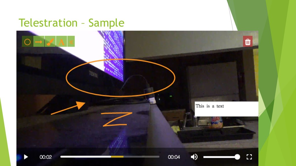 Telestration – Sample