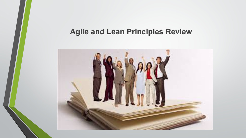 Agile and Lean Principles Review