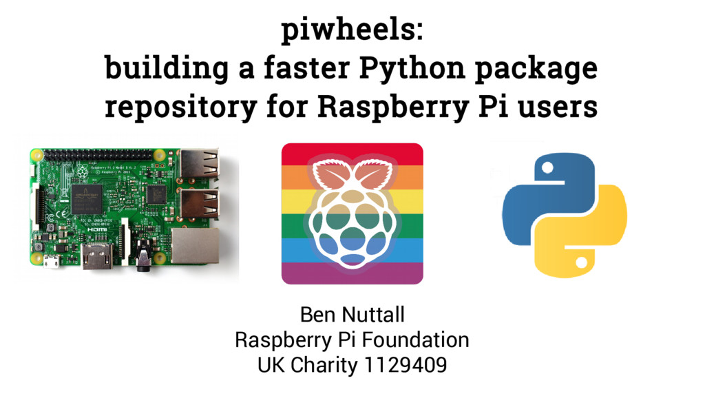 piwheels: building a faster Python package repo...