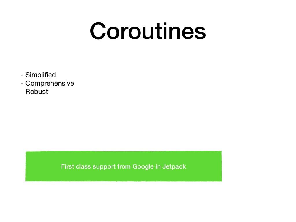 Coroutines - Simplified  - Comprehensive  - Robu...