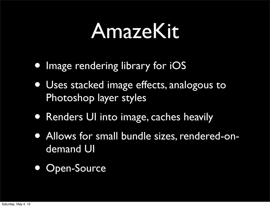 AmazeKit • Image rendering library for iOS • Us...