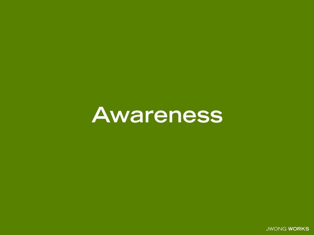 JWONG WORKS Awareness