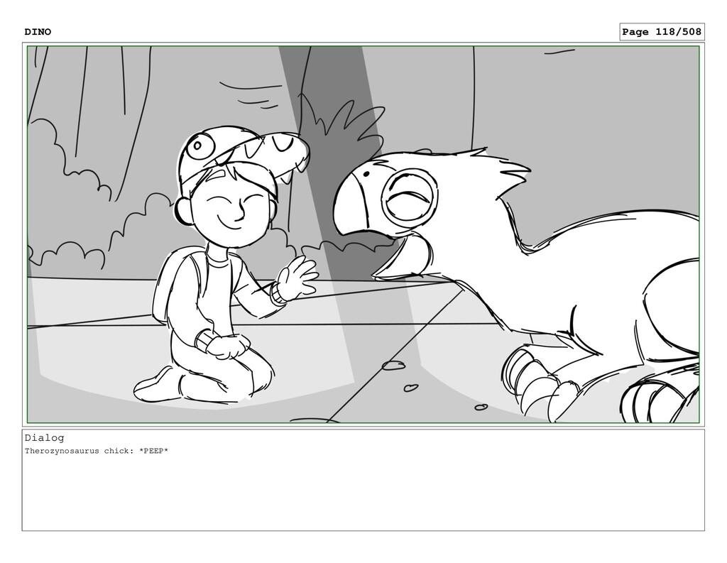 Dialog Therozynosaurus chick: *PEEP* DINO Page ...