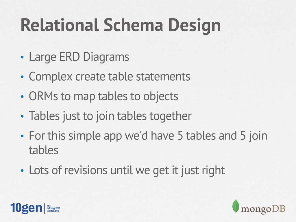 Relational Schema Design • Large ERD Diagrams ...