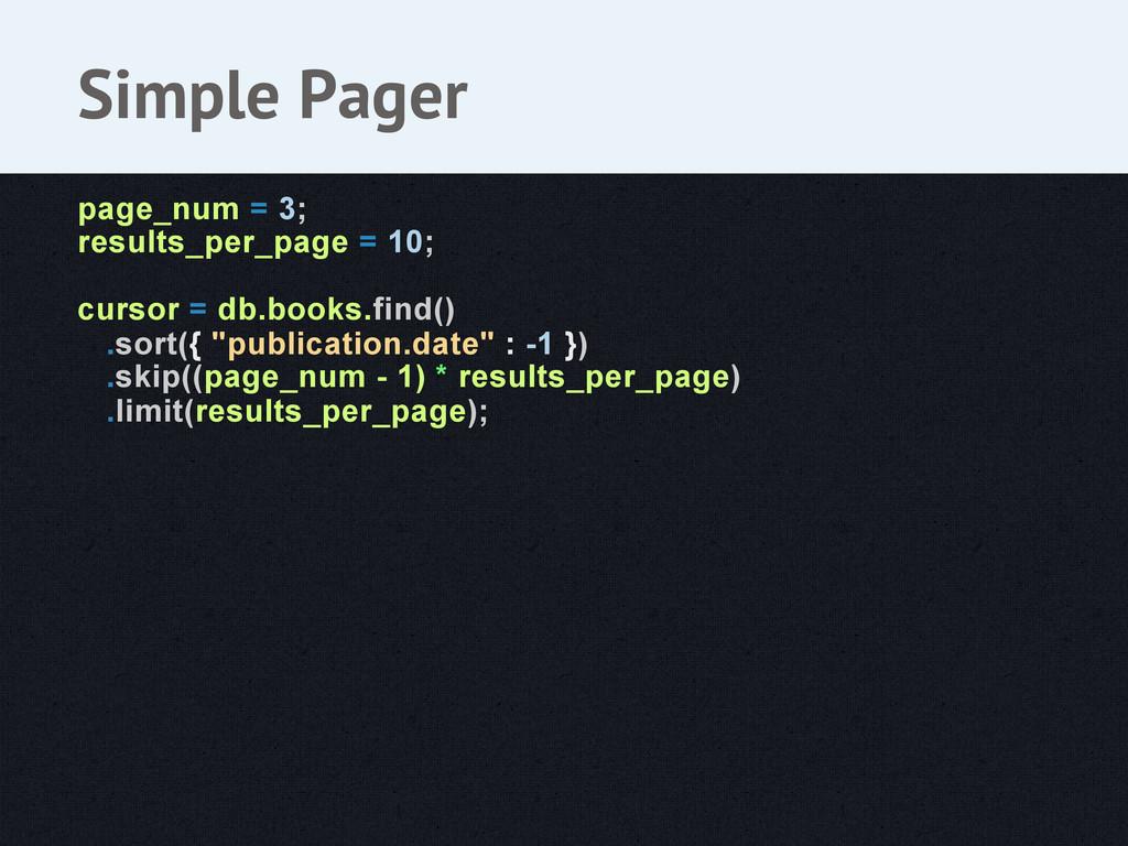 page_num = 3; results_per_page = 10; cursor = d...