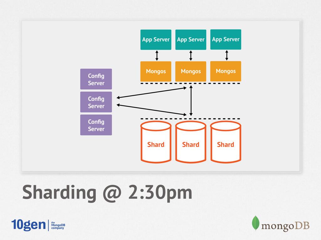 Node 1 Secondary Config Server Node 1 Secondary ...