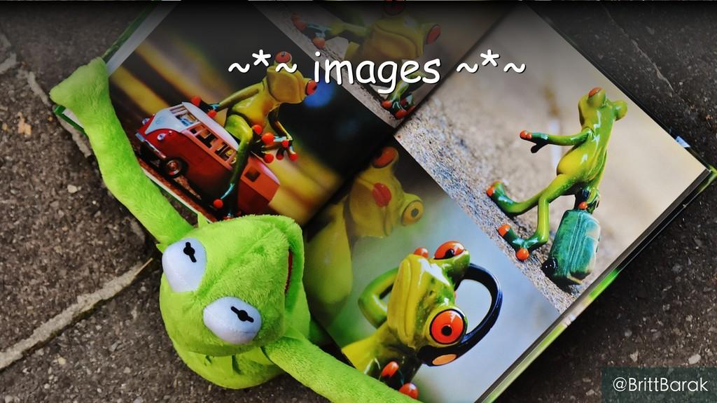 ~*~ images ~*~ @BrittBarak