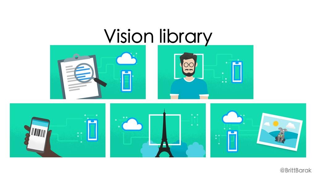 @BrittBarak Vision library