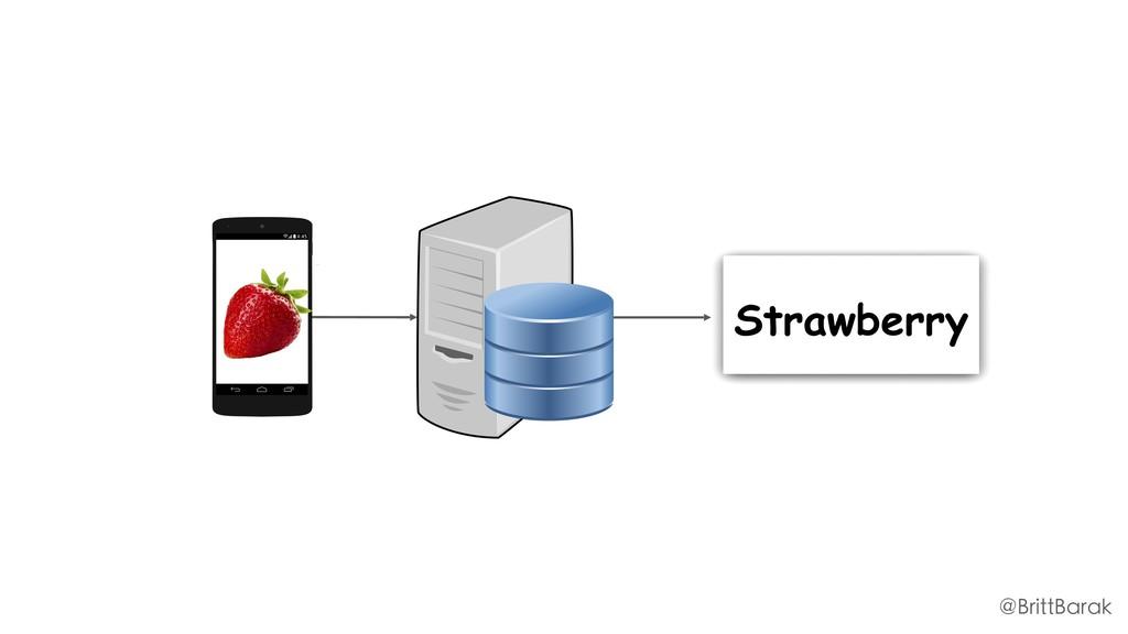 Strawberry @BrittBarak