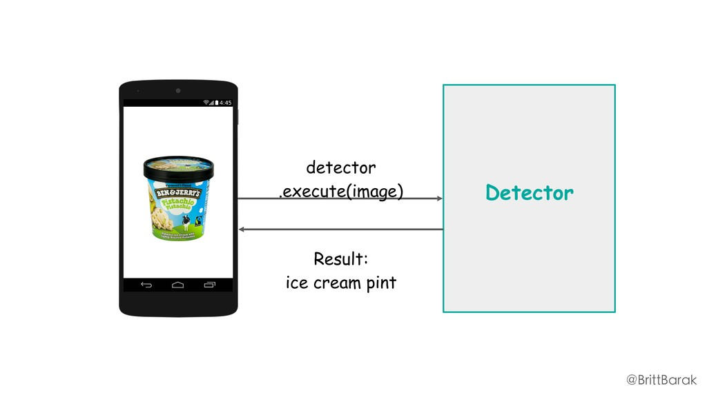Detector detector .execute(image) Result: ice c...