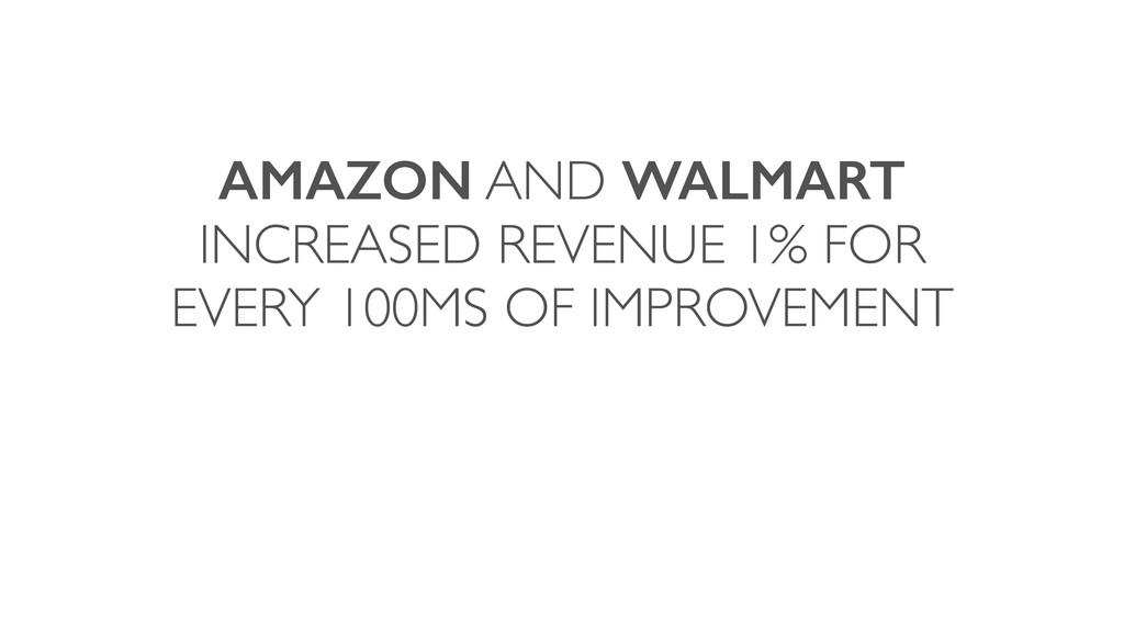 AMAZON AND WALMART INCREASED REVENUE 1% FOR EVE...