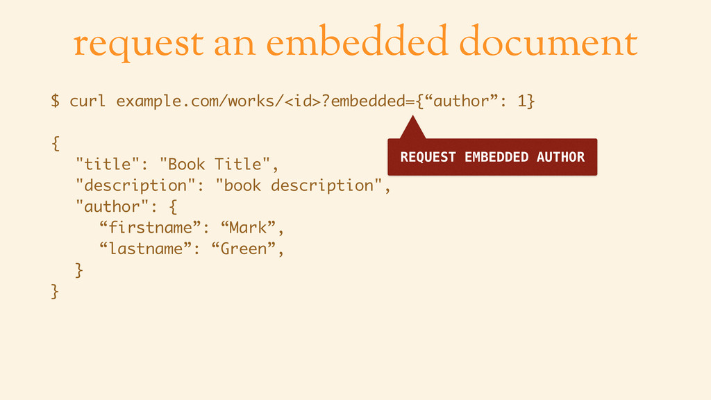 request an embedded document $ curl example.com...