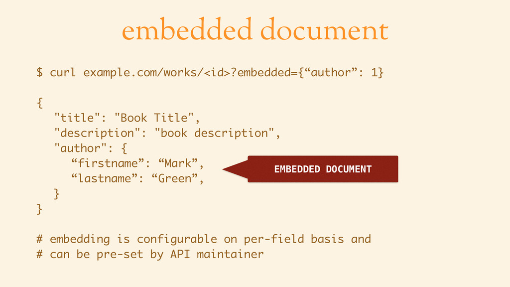 embedded document $ curl example.com/works/<id>...