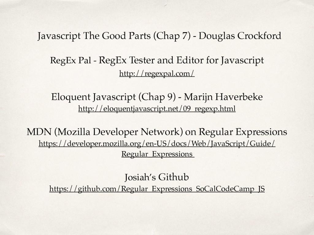 Javascript The Good Parts (Chap 7) - Douglas Cr...