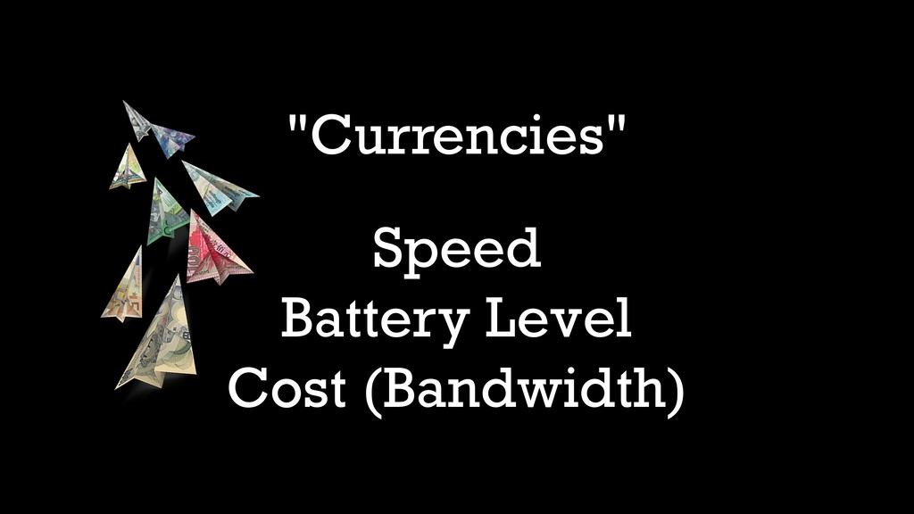 """Currencies"" Speed Battery Level Cost (Bandwidt..."