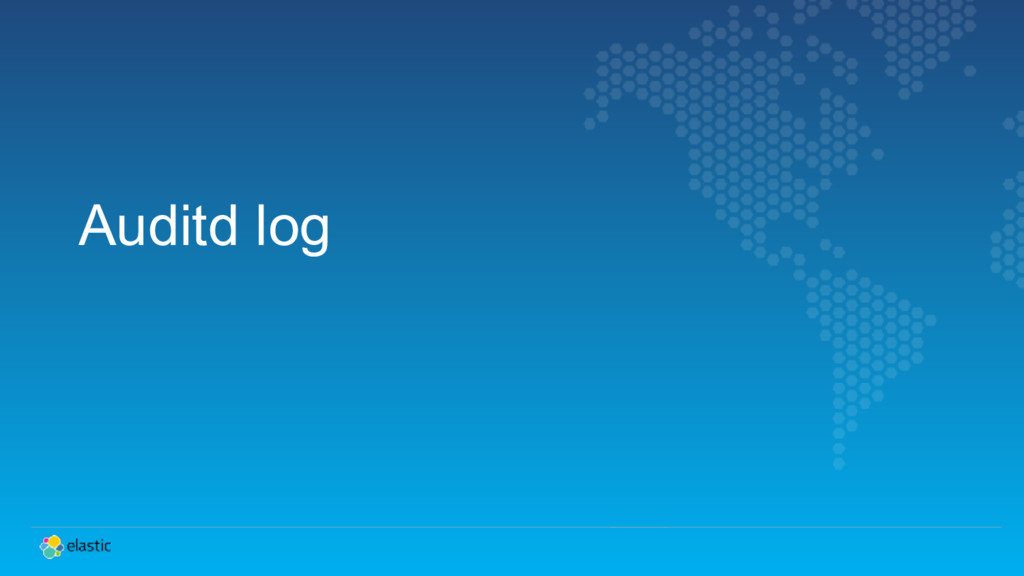 Auditd log