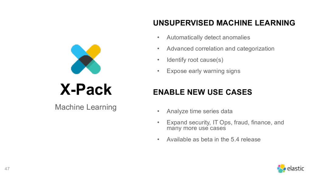 Machine Learning X-Pack 47 • Automatically dete...