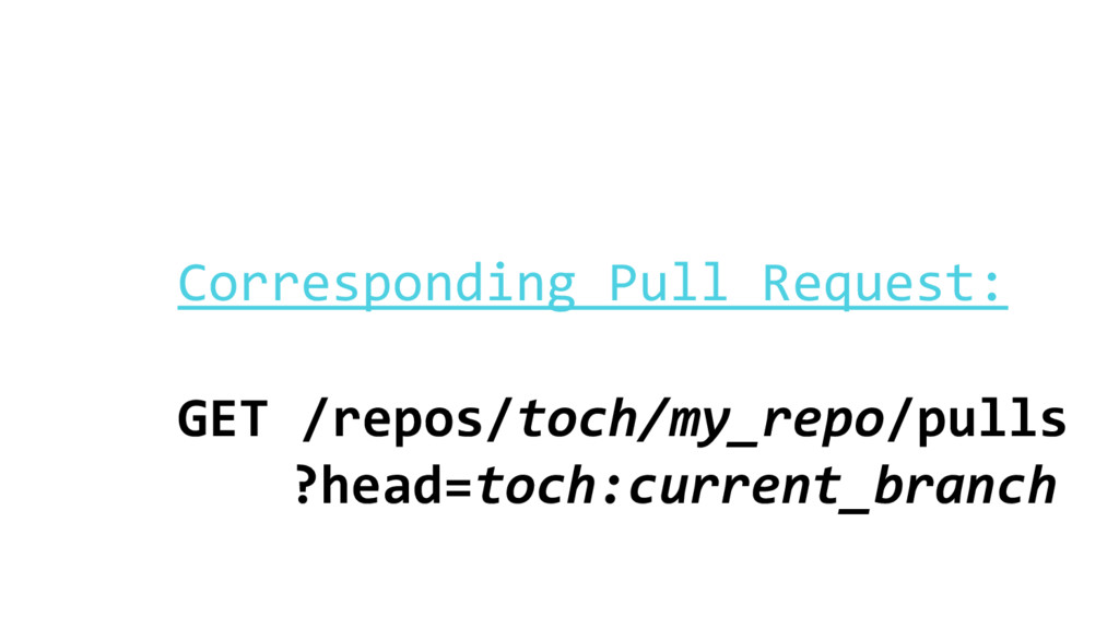Corresponding Pull Request: GET /repos/toch/my_...