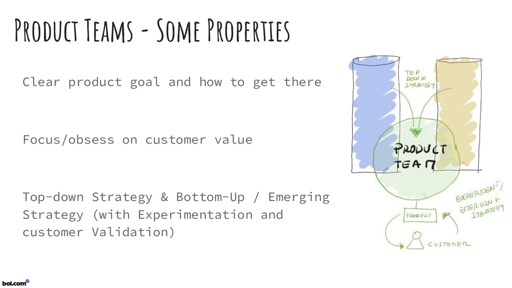 Product Teams - Some Properties Clear product g...