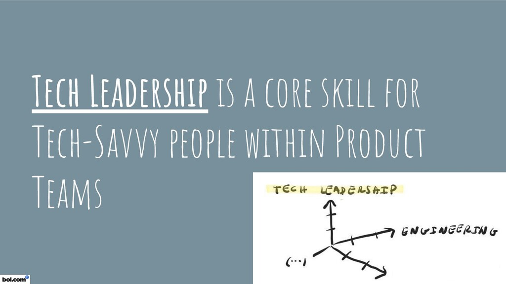 Tech Leadership is a core skill for Tech-Savvy ...