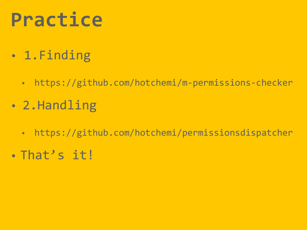 Practice • 1.Finding  • https://github.com/h...