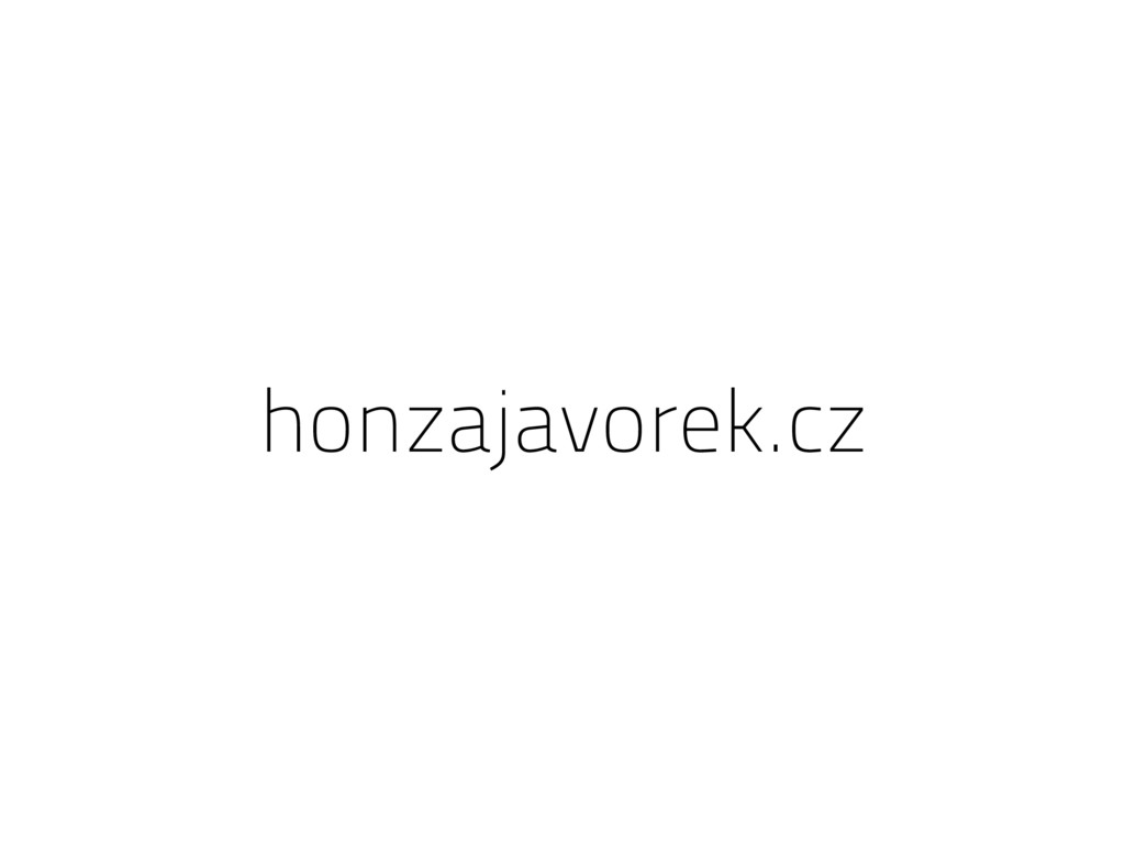 honzajavorek.cz