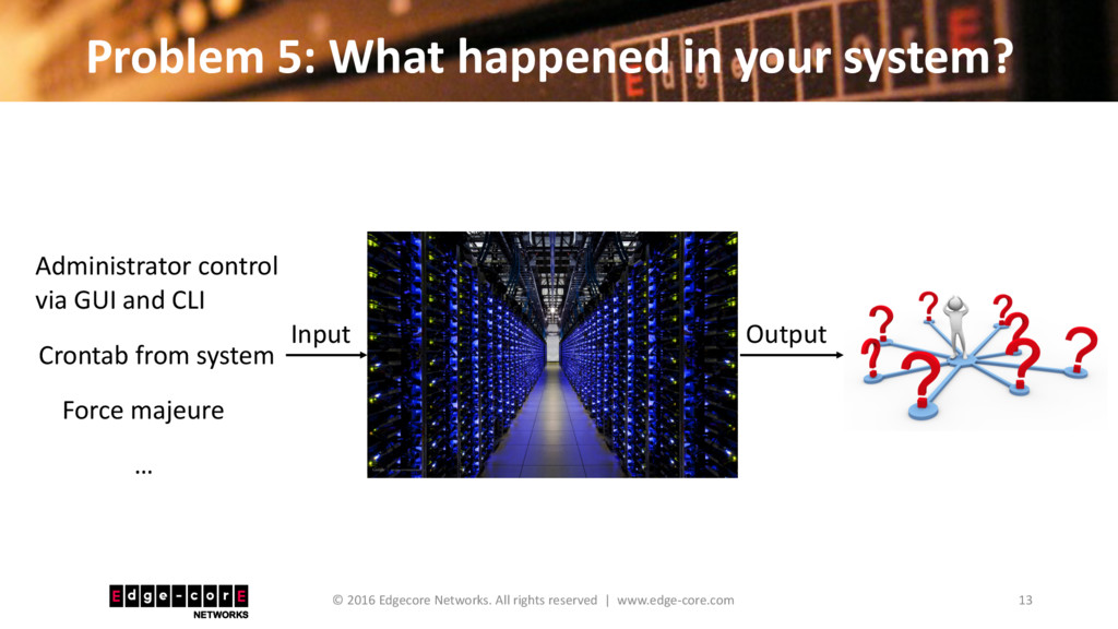 Problem 5: What happened in your system? 13 © 2...