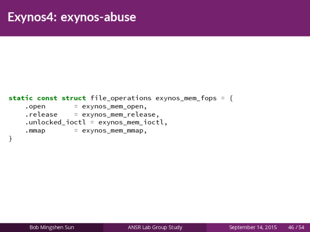 Exynos4: exynos-abuse static const struct file_...