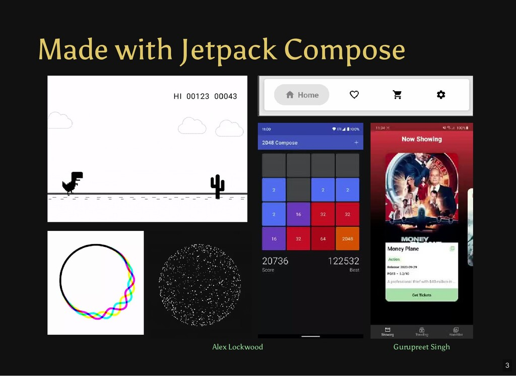 Made with Jetpack Compose Alex Lockwood Gurupre...
