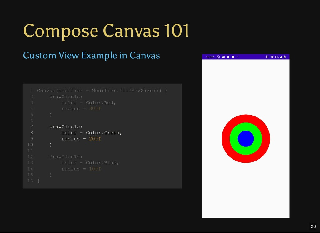 Compose Canvas 101 Custom View Example in Canva...
