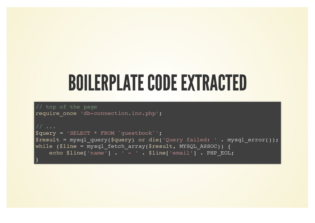 BOILERPLATE CODE EXTRACTED BOILERPLATE CODE EXT...