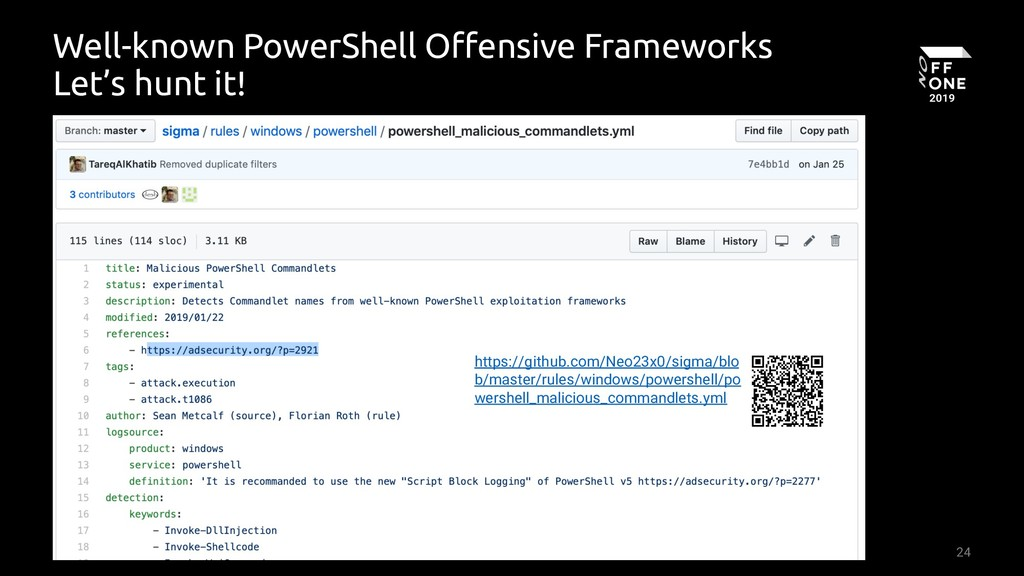 24 Well-known PowerShell Offensive Frameworks L...