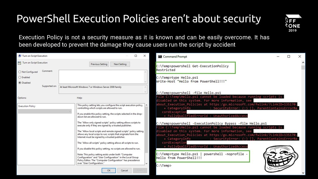 7 PowerShell Execution Policies aren't about se...