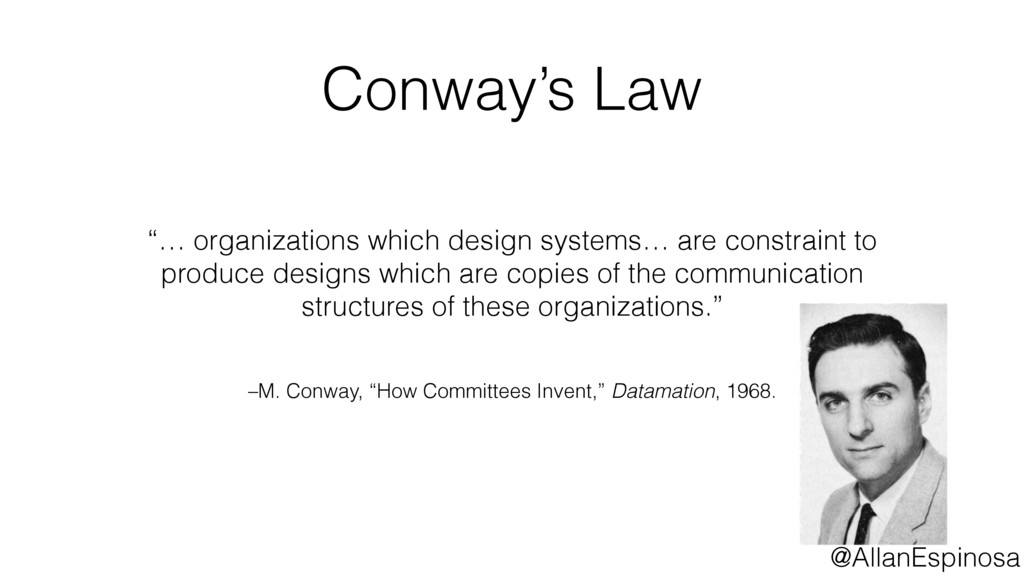 """–M. Conway, """"How Committees Invent,"""" Datamation..."""