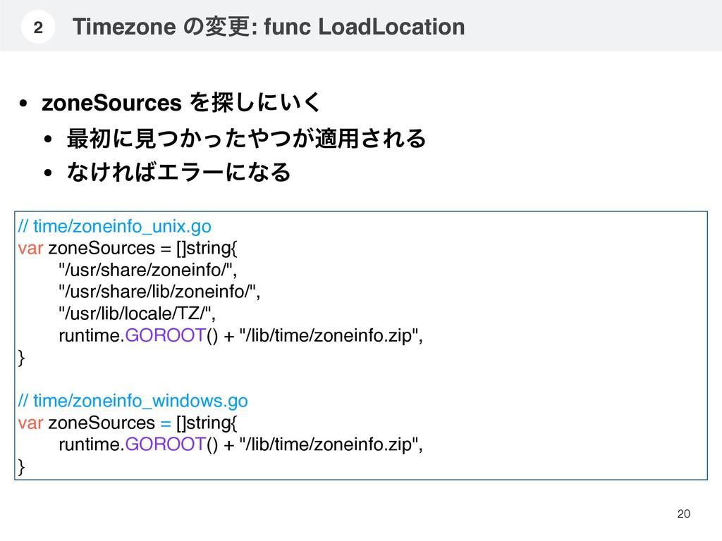 20 2 • zoneSources Λ୳͠ʹ͍͘ • ࠷ॳʹݟ͔͕ͭͬͨͭద༻͞ΕΔ • ...