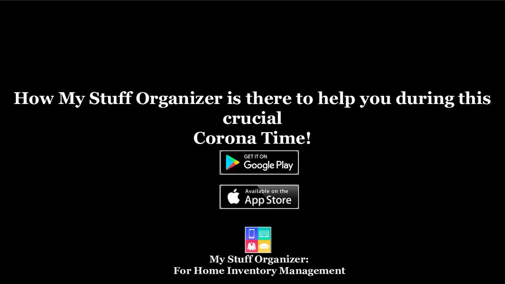 My Stuff Organizer: For Home Inventory Manageme...