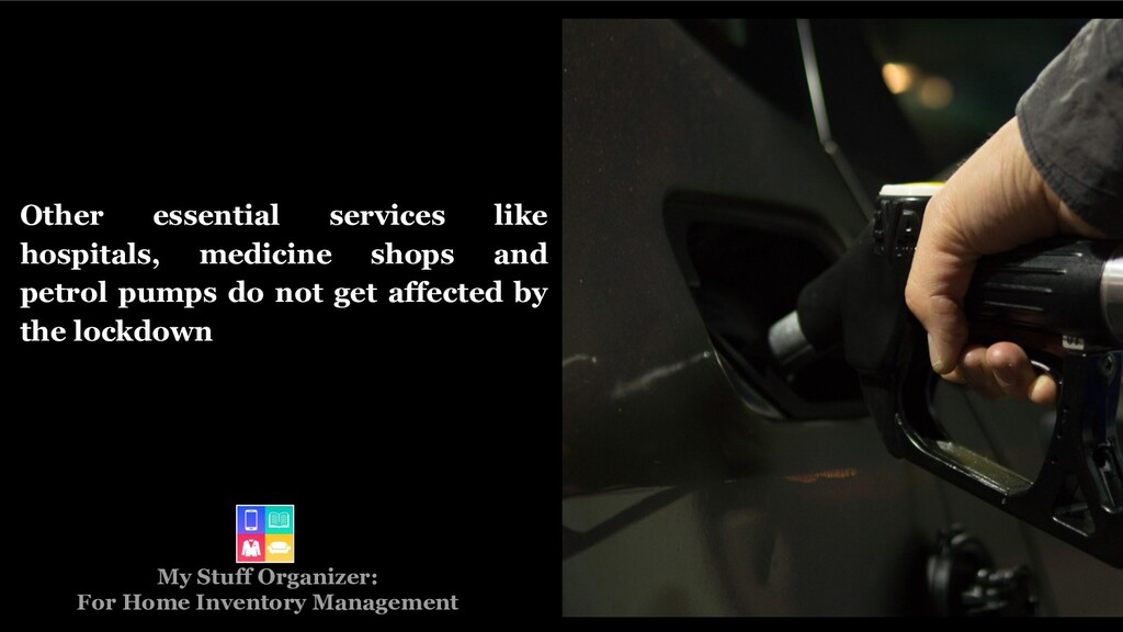 Other essential services like hospitals, medici...